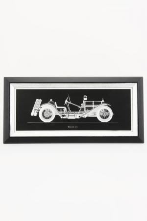 Постер Машина F.A.L. Цвет: черный, серый