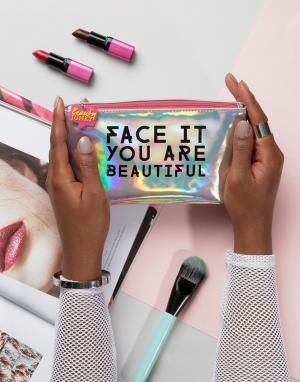 Beauty Extras Косметичка Junkie. Цвет: бесцветный