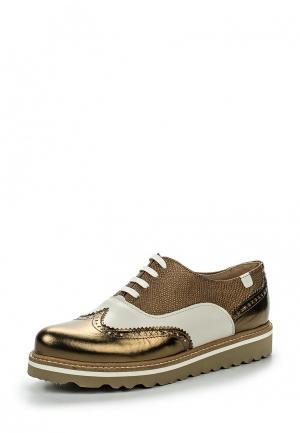 Ботинки Trussardi Jeans. Цвет: золотой