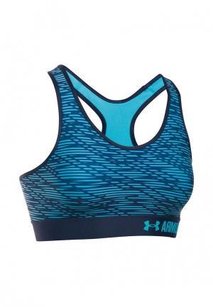 Топ спортивный Under Armour. Цвет: голубой