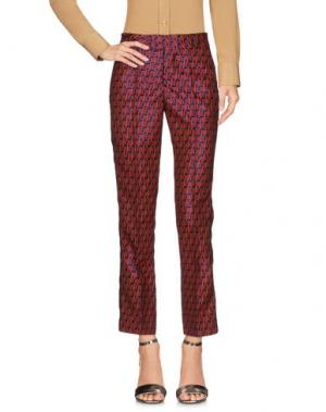 Повседневные брюки GIULIETTE BROWN. Цвет: красный