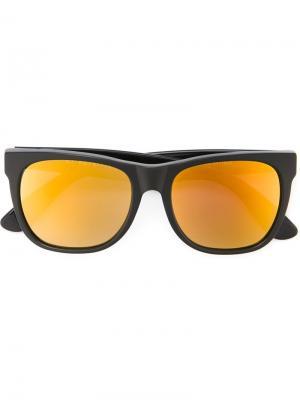 Солнцезащитные очки Classic Black 24k Retrosuperfuture. Цвет: чёрный