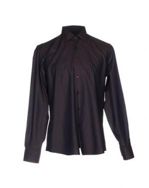 Pубашка HARRY & SONS. Цвет: темно-коричневый