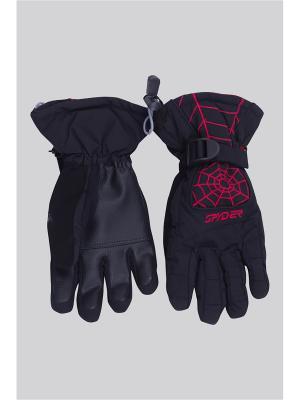 Перчатки OKWAY. Цвет: красный