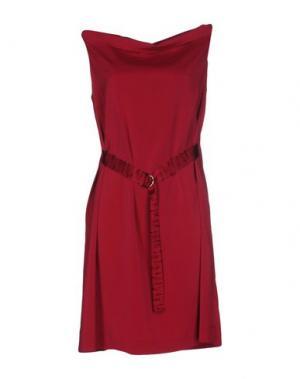 Короткое платье LA FABRIQUE. Цвет: фуксия