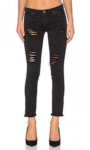 Укороченные джинсы jarod IRO . JEANS. Цвет: черный