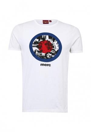 Футболка Merc. Цвет: белый