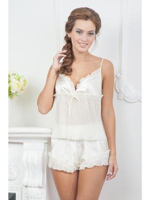 Комплект одежды CLEO. Цвет: молочный