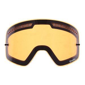 Линза для маски (мото/вело)  Nfx All Weather Rpl Lens Amber Dragon. Цвет: оранжевый
