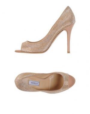 Туфли SEMILLA. Цвет: песочный