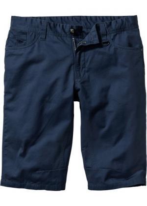 Бермуды Regular Fit Straight (темно-синий) bonprix. Цвет: темно-синий