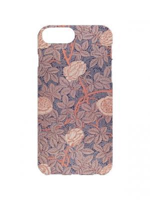 Чехол для iPhone 7Plus Розы с шипами Арт. 7Plus-272 Chocopony. Цвет: серый, бежевый