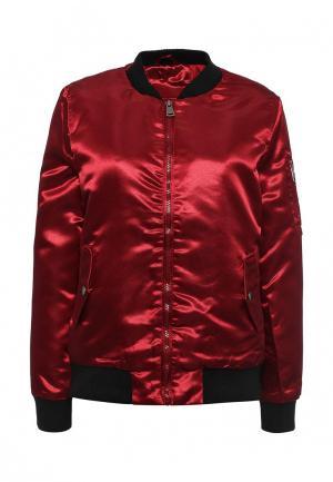 Куртка утепленная Z-Design. Цвет: красный
