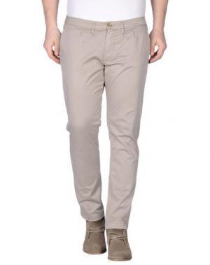 Повседневные брюки - -ONE > ∞. Цвет: голубиный серый