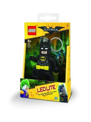 Брелок-фонарик для ключей LEGO Batman Movie (Лего Фильм: Бэтмен)-. Цвет: черный,бежевый,светло-желтый