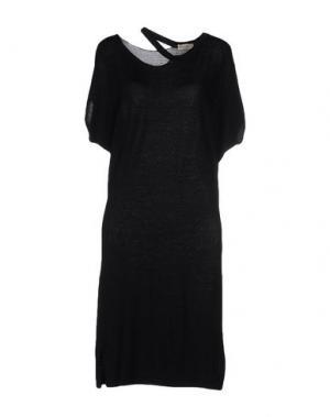 Платье до колена CASHMERE COMPANY. Цвет: черный