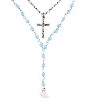 Ожерелье DSQUARED2. Цвет: небесно-голубой