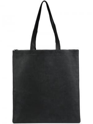 Сумка-шоппер Isaac Reina. Цвет: чёрный