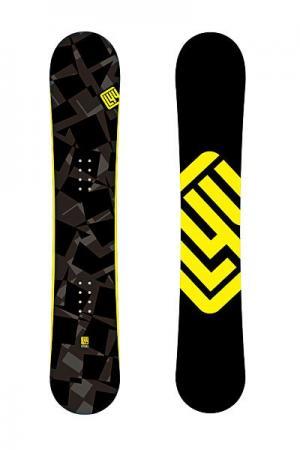Сноуборд  Pro 156 Limited4You. Цвет: черный,желтый