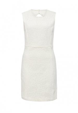 Платье Silvian Heach. Цвет: белый