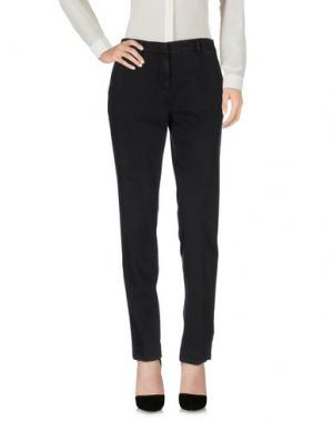 Повседневные брюки MASON'S. Цвет: стальной серый