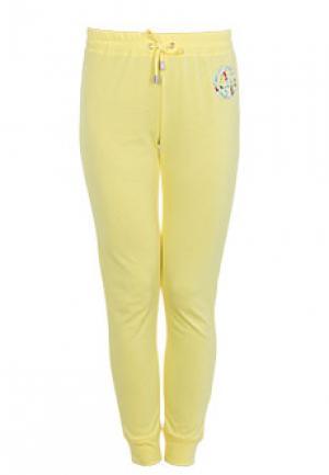 Спортивные брюки ARMANI JEANS. Цвет: желтый