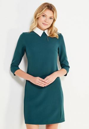 Платье Emka. Цвет: зеленый