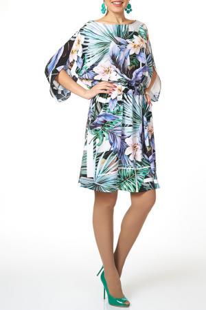 Платье женское Argent. Цвет: мультиколор
