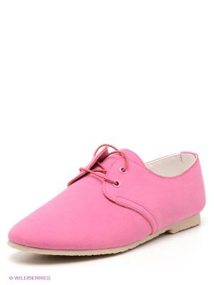 Туфли KEDDO. Цвет: розовый