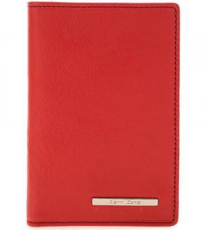 Обложка для автодокументов из натуральной кожи Gianni Conti. Цвет: красный