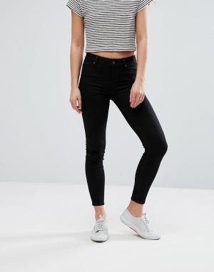 New Look Мягкие супероблегающие джинсы India. Цвет: черный