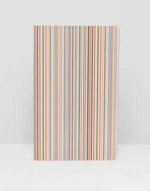 Paul Smith Блокнот в полоску. Цвет: мульти