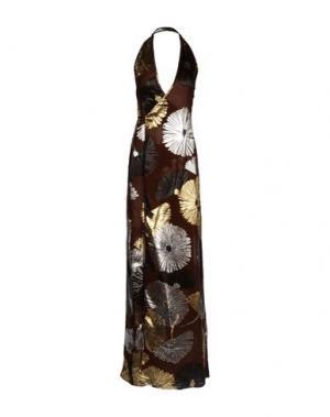 Длинное платье DSQUARED2. Цвет: какао