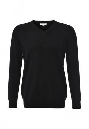 Пуловер Zaroo Cashmere. Цвет: черный