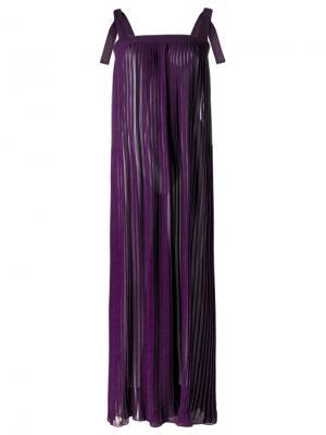 Maxi dress Adriana Degreas. Цвет: розовый и фиолетовый