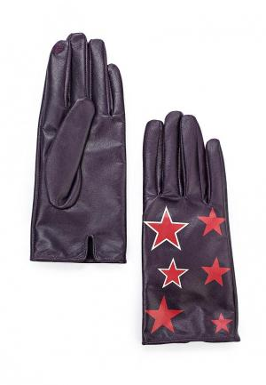 Перчатки Twin-Set Simona Barbieri. Цвет: фиолетовый