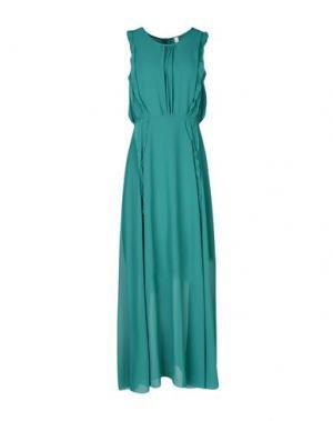 Длинное платье SOUVENIR. Цвет: изумрудно-зеленый