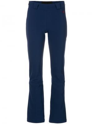 Расклешенные брюки Ancelle Perfect Moment. Цвет: синий