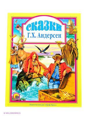 Сказки Андерсена Проф-Пресс. Цвет: желтый