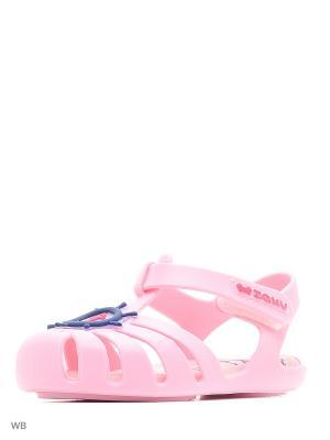 Сандалии ZAXY. Цвет: розовый
