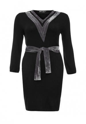 Платье Love & Light XXL. Цвет: черный