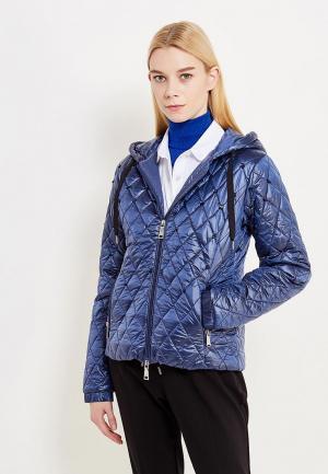 Куртка утепленная Twin-Set Simona Barbieri. Цвет: синий