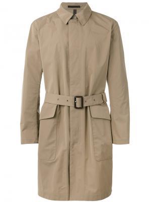 Легкое пальто Caruso. Цвет: коричневый