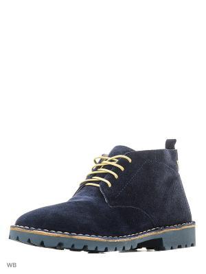 Ботинки renne. Цвет: темно-синий