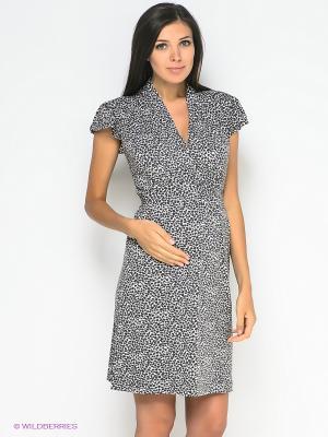 Платье Noppies. Цвет: серый, белый