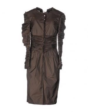 Легкое пальто INTROPIA. Цвет: хаки