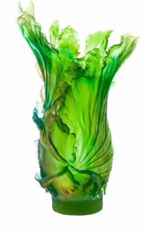 Ваза Borneo Daum. Цвет: зеленый