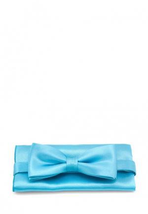 Комплект бабочка и платок Greg. Цвет: бирюзовый