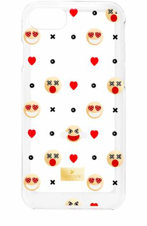 Чехол Humorist для iPhone 7 Plus Swarovski. Цвет: разноцветный