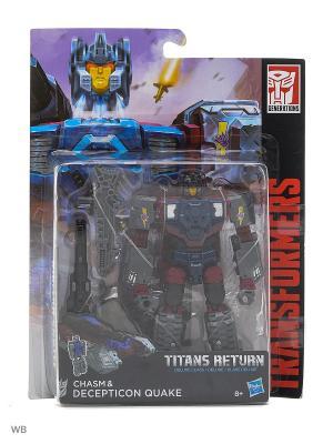 Трансформеры дженерэйшнс: войны титанов дэлюкс Transformers. Цвет: темно-синий, темно-бордовый